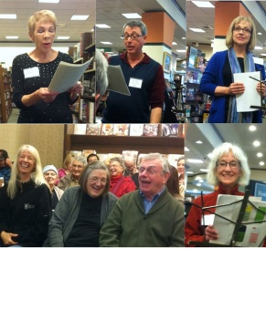 TVFH B&N reading-collage